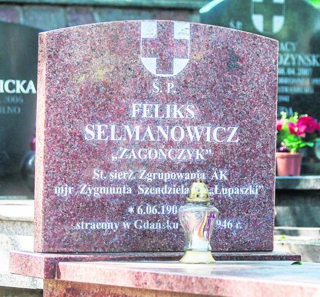 """Pochówek """"Zagończyka"""" na Cmentarzu Garnizonowym w Gdańsku"""