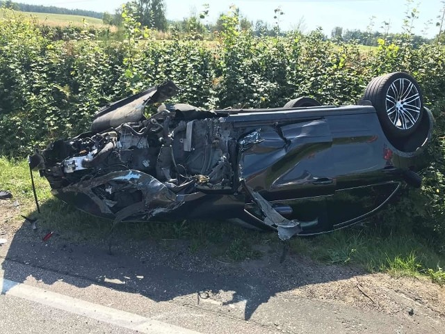 Na trasie Rokiciny-Dolina Jadwigi doszło do zdarzenia drogowego.