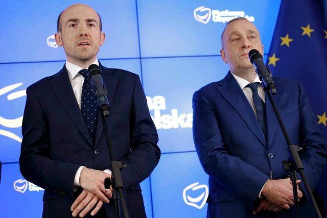 Borys Budka i Grzegorz Schetyna