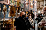 Supraśl. Minister kultury Piotr Gliński odwiedził supraski monaster. Wicepremier zwiedził też muzeum ikon