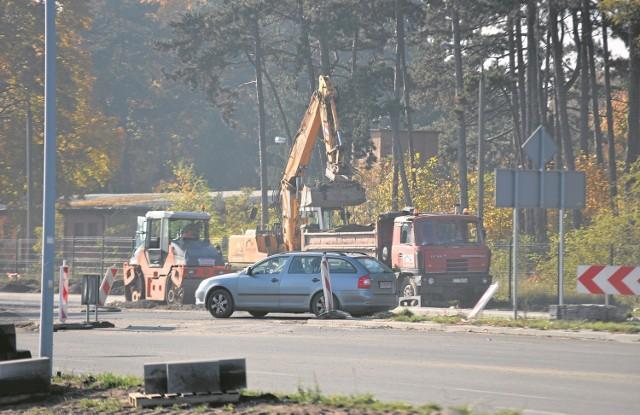Prace związane z przebudową przez Strabag ulicy Polnej mają zakończyć się w poniedziałek 30 listopada