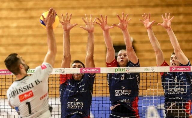 Zaksa Kędzierzyn-Koźle wykazała się doświadczeniem i nie dała się zaskoczyć Treflowi Gdańsk w sali treningowej Ergo Areny