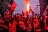 Marsz Niepodległości. Ponad 300 osób zatrzymanych. Rannych 35 policjantów