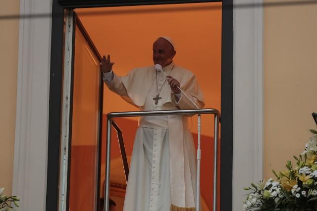 Czwartkowe spotkanie papież poświęcił małżeństwu.
