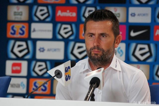 Nenad Bjelica, trener Lecha Poznań