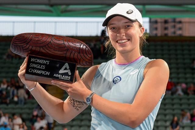Po zwycięstwie w Adelajdzie Iga Świątek wycofała się z turnieju w Doha