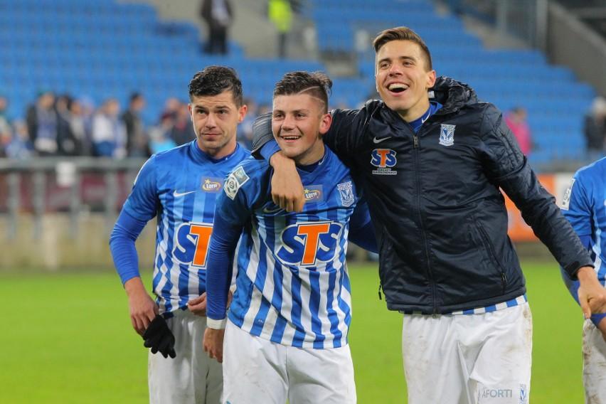 Czy Dawid Kownacki (strzelec zwycięskiego gola w ostatnim meczu z Koroną przy Bułgarskiej, zakończonym wygraną 1:0) i Jan Bednarek znów będą cieszyć się z trzech punktów po meczu z kielecką jedenastką?