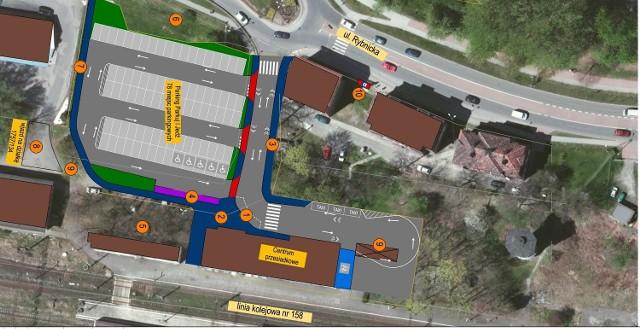 Miasto planuje wybudować centrum przesiadkowe przy dworcu kolejowym