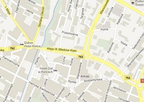 Działki do sprzedaży znajdują się w samym centrum miasta.
