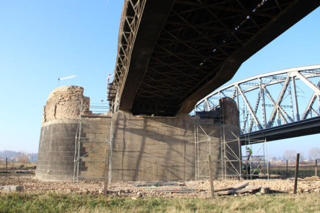 Po pożarze Mostu Tczewskiego