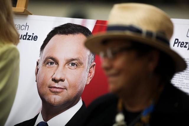 Andrzej Duda w Łodzi zdobył ponad 107,5 tys. głosów (30,66 proc.)
