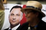 """Łódź: """"progres poparcia dla Andrzeja Dudy, stagnacja kandydata PO"""". PiS uważa, że w bastionie PO rośnie poparcie dla partii rządzącej."""