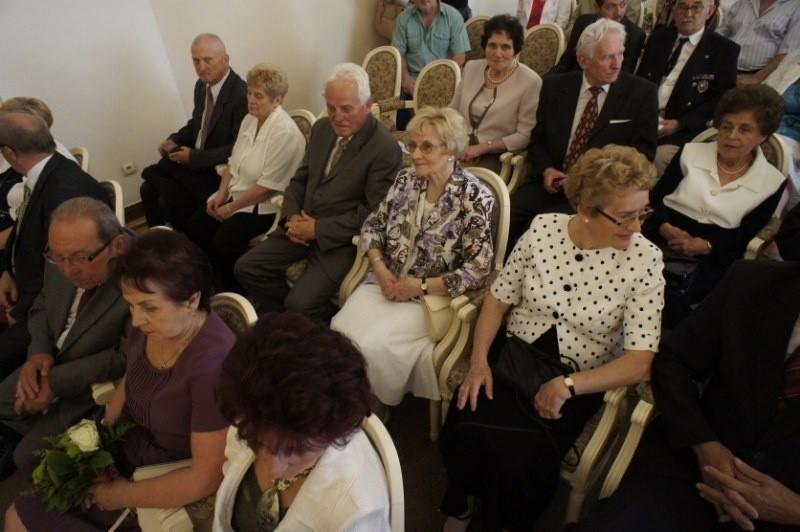 Pół wieku małżeństwa - jubilaci w Urzędzie Miasta [ZDJĘCIA]