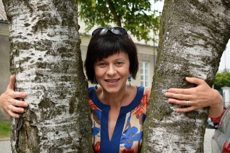 Dr. Anna Janicka z Zakładu Literatury Pozytywizmu i Młodej...