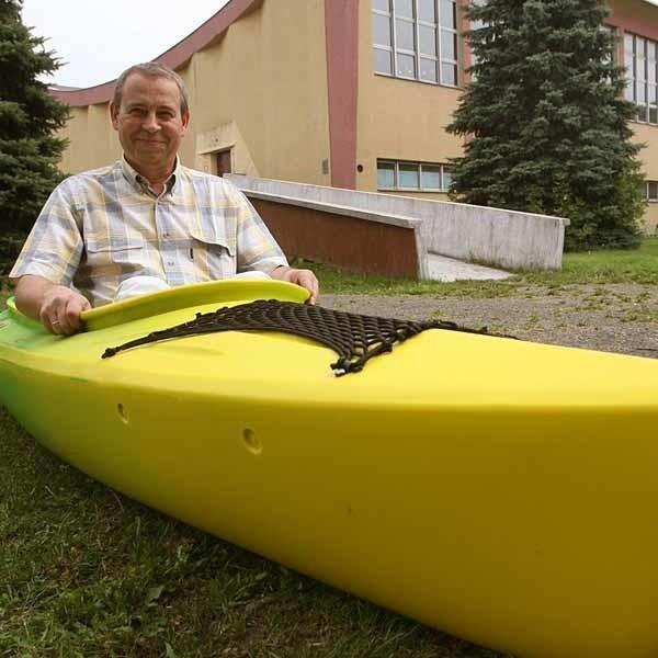 Keja gotowa, kajaki i rowerki kupione, został do postawienia hangar - mówi Janusz Makar, dyr. ROSiR