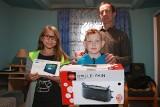 Akcja Nowin i firmy Asseco. Rodzina z Palikówki otrzymała prezenty na święta Bożego Narodzenia