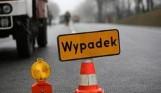 Wypadek pod Brzezinami. Zderzenie trzech samochodów na drodze krajowej  72