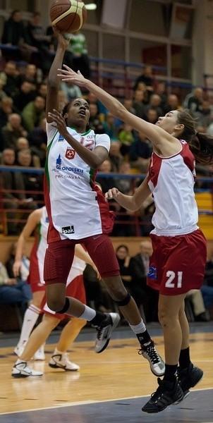 Amerykanka Jessica Starling (z lewej) jest mocnym punktem brzeskiej drużyny.