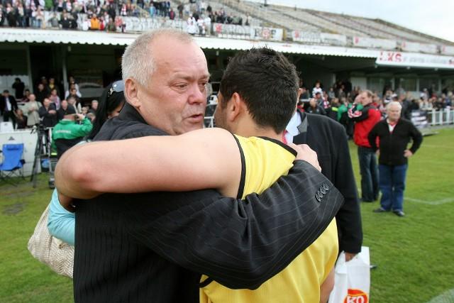 Grzegorz Klejman cieszył się z każdego sukcesu ŁKS