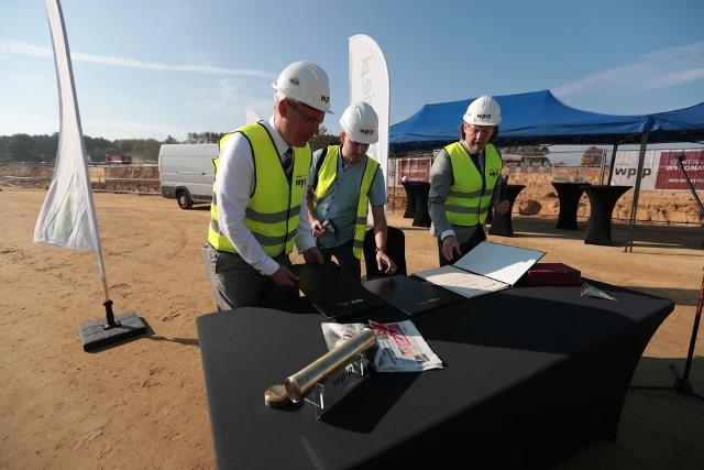 Firma eobuwie.pl rozpoczęła budowę centrum logistycznego. Inwestycja stworzy 200 nowych miejsc pracy