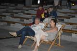 Kino letnie na Placu Teatralnym w Zielonej Górze. Tak oglądaliście projekcje filmowe w piątkowy wieczór. Zobaczcie naszą galerię zdjęć
