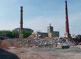 Rozbiórka zakładów Enkev przy Targowej pod budowę ulicy Nowotargowej w Nowym Centrum Łodzi [ZDJĘCIA]