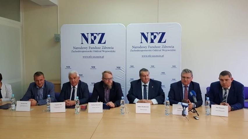 Cesja umowy (kontraktu) została podpisana wczoraj w Szczecinie w siedzibie NFZ