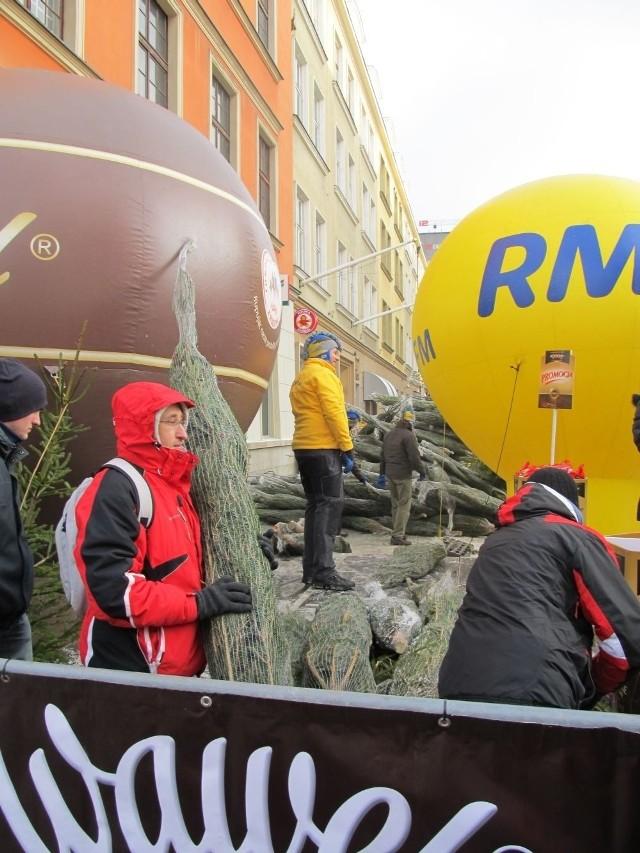 Akcja RMF FM co roku ściąga tłumy wrocławian