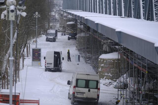 Remont mostu drogowego w Toruniu