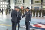 Uroczysta zmiana dowódcy 1. Brygady Lotnictwa Wojsk Lądowych  w Inowrocławiu [zdjęcia]