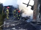 Wybuch gazu w domku w Zgierzu. Straż pożarna przeszukuje gruzowisko [ZDJĘCIA]