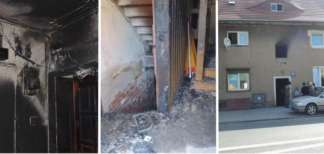 W budynku wyłączono prąd i gaz.
