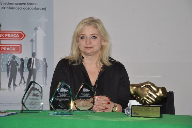 Izabela Młynarczyk, dyrektor PUP w Myślenicach