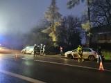 Wypadek w Jerzmanowicach. Zderzenie pięciu samochodów, jedna osoba została poszkodowana