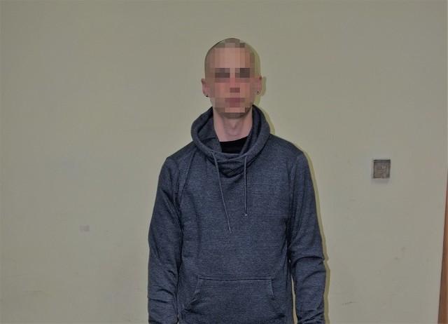 Zatrzymany mężczyzna, który nożem terroryzował sprzedawcę sklepu na Ruczaju