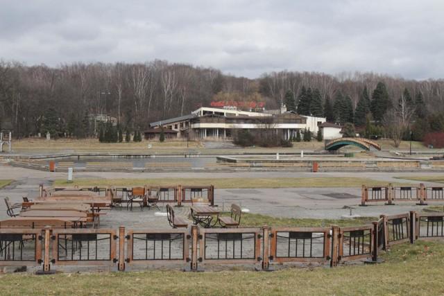 Park Śląski, luty 2020