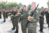 Wojsko: Terytorialsi przysięgali w Śremie. To już szósta przysięga Wojsk Obrony Terytorialnej w Wielkopolsce [ZDJĘCIA]