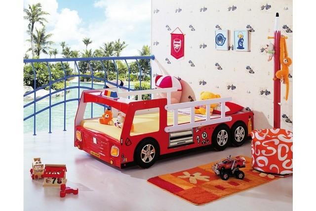 Łóżko dla dziecka: Franek Wóz StrażackiŁóżko dla dziecka: Franek Wóz Strażacki