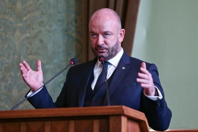 Prezydent Wroclawia Jacek Sutryk.
