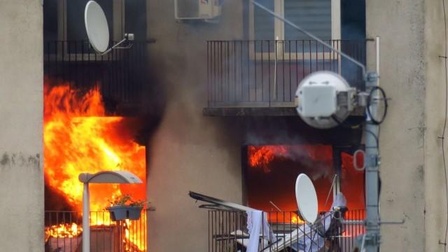 W bloku przy ulicy Chrobrego w Rybniku doszło do wybuchu gazu