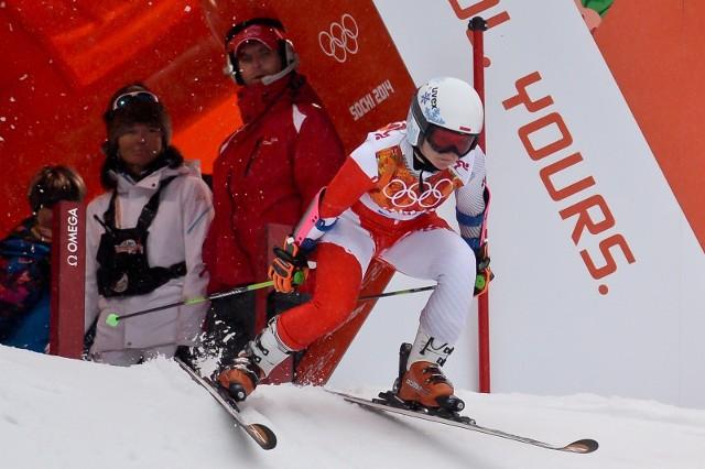 Maryna Gąsienica-Daniel debiutowała na igrzyskach w Soczi cztery lata temu.
