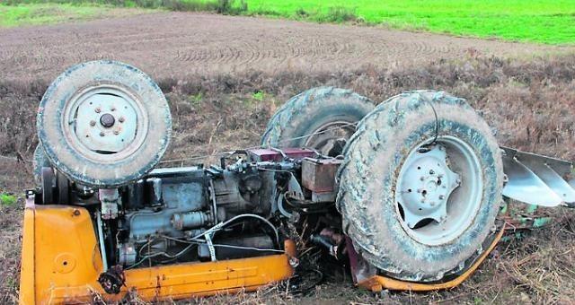 Wypadek w gminie Kozłów. Zginął 57-letni mężczyzna