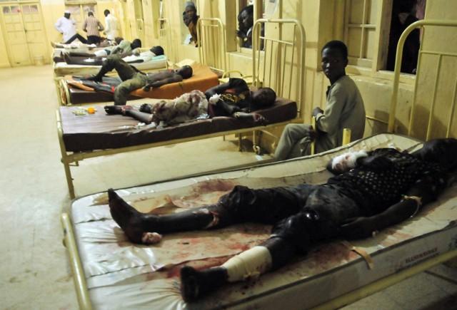 Ofiary ataku bombowego w Kano