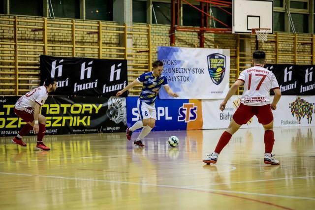 MOKS Słoneczny Stok Białystok przegrał z Gredar Team Brzeg 1:2