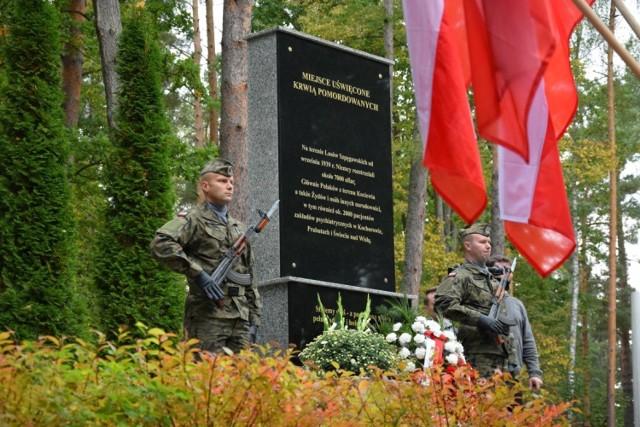 Uroczystości w Lesie Szpęgawskim 29.09.2019. Hołd poległym i poświęcenie pomnika upamiętniającego ofiary