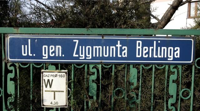 Czy ulica Berlinga stanie się ulicą Heleny Motykówny? Tego chce PiS