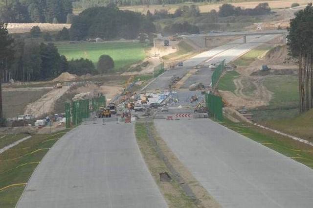 Nowy odcinek autostrady otwarto 1 grudnia (fot. Jakub Pikulik) Czy na autostradzie A2 powstaną nowe węzły?