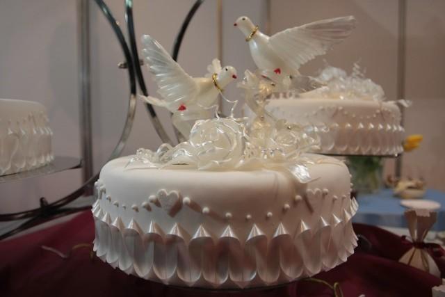 Podcza targów będzie można poznać najnowsze trendy w robieniu tortów weselnych.