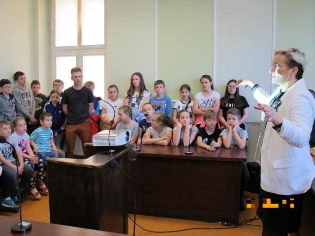 Dzień Wymiaru Sprawiedliwości w Sądzie Rejonowym w Oleśnie.