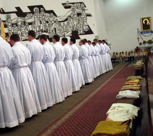 W tym roku więcej młodych mieszkańców regionu chce iść do seminariów. Dzięki papieżowi?